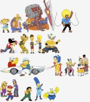 los simpsons parodiando 1 by Tamayazo