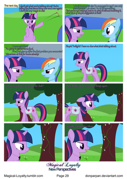 Magical Loyalty - New Perspectives Page 29 by WaveyWaves