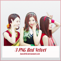 PACK PNG RED VELVET 3 by sara3012