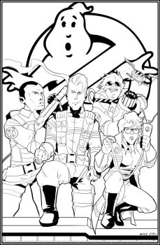 The Young Ghostbusters by NathanKroll