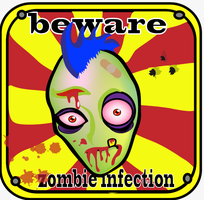 beware zombie infection by gerrysnk