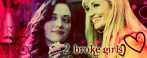 2 Broke Girls Signature by Lunell