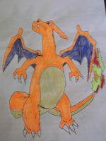 Charizard Drawing by FlyingLion76