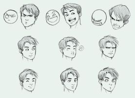 Facial Expressions by moh-salami