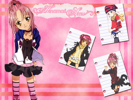 Amu Hinamori Wallpaper by x-Aliiz-x