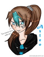Axleo - ART TRADE by Astral-sama