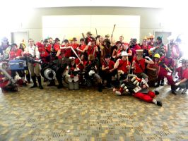 Otakon 2011 - Team Fortress 02 by mugiwaraJM