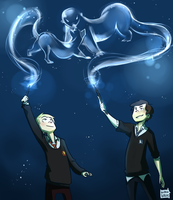 Commiss: Potterlock by blargberries