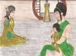 Meeting the Grandparents - Beifong Week by KaiyaAquamarine