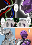Glitch: Comic page 1 by kcimaginary