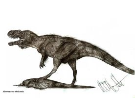 Afrovenator abakensis by Teratophoneus
