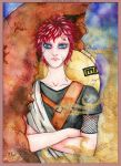Sabaku no Gaara by ViolaRoseSweetbox