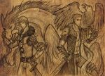 Medieval Times AU (scanned) by patty110692