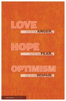 Love, Hope, and Optimism by Lydia-distracted