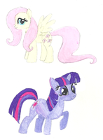 Random Ponies by bojangle387