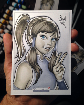 Lil Korra by WarrenLouw