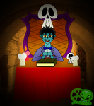 Alex The Crypt Keeper by skull1045fox