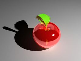 Glass Apple by Chris0919