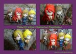 Tales Of Abyss Character Keychains by DoloAndElectrik