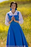 Cosplay: Peasant Belle by Adella