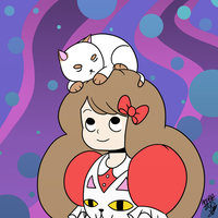 Bee and Puppycat by alpha00zero