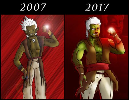 Orc Moine (2007-2017) by Touffe-Touffe