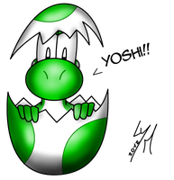 Easter Yoshi by McTaylis