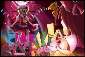 EOSD-extra stage boss Flandre by cantabile94