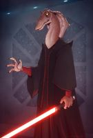Darth Jar Jar by devilhs