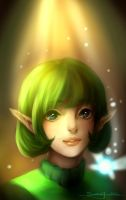 Saria from The Legend Of Zelda. by PiraruChan
