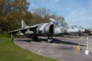 Hawker Siddeley Harrier GR3 by Daniel-Wales-Images