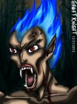 Crazy-ass Vampire By Dookieshed by All-shall-fade