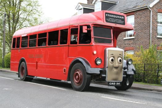 Real Bertie the Bus by The-ARC-Minister