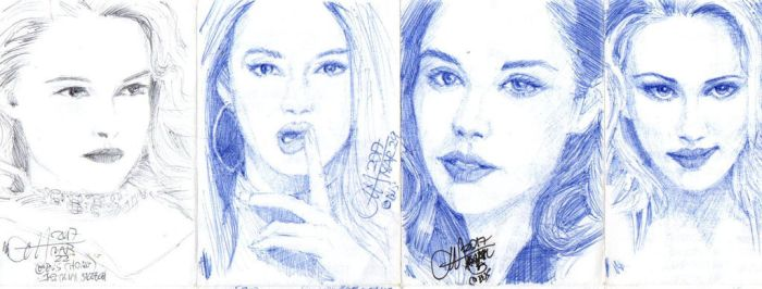Quad Mini Drawings 2 by ethan-gmt