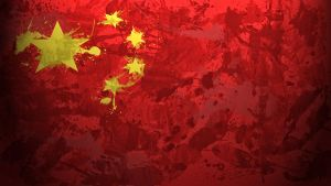Chinese Flag Wallpaper by GaryckArntzen