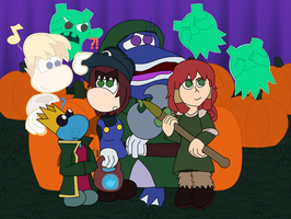 Halloween with Dream Legends by GreenySolitare