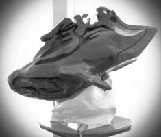 Alien Whale V2.0 LS Sculpture (Completed PicEdit2) by liquidinsect