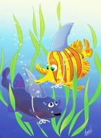 fishes by kaloly