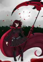 Red RWBY by madcat2316