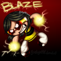 PC-Blaze [shaded] by Brashgirl901