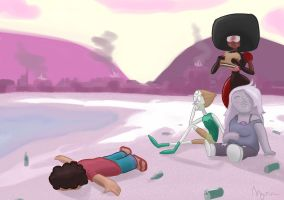 The Hangover (Steven Universe Edition) by alexmorgaen