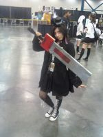 Me with Sol's sword by Turtle-Girl-Kaneda