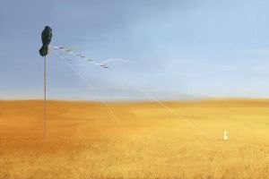 Field and Flags by putridCheese