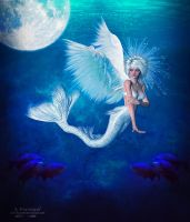 Then White Mermaid by annemaria48