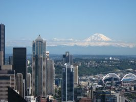 Seattle Skyline by kzinrret