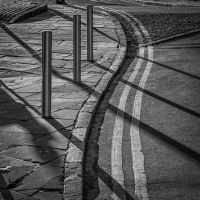 double yellow and shadows by lesterlester