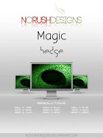 Magic: Hedge by NoRushDesigns