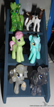 Toy ponies _ 20161008 by K4nK4n
