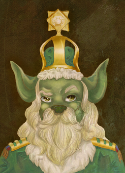 Portrait of a King by adorables