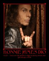 R.I.P. Ronnie James Dio by YoungNastyman88